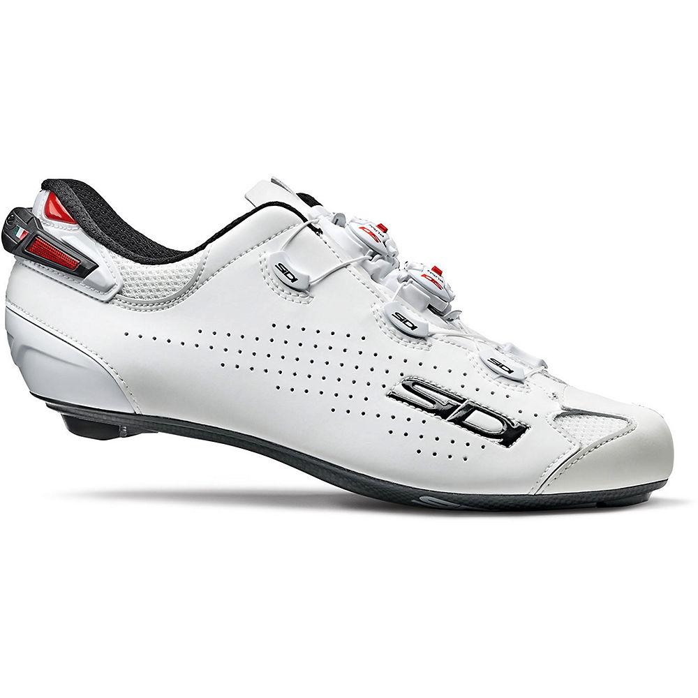 Sidi Shot 2 Road Cycling Shoes Ss21 - White-white - Eu 46  White-white