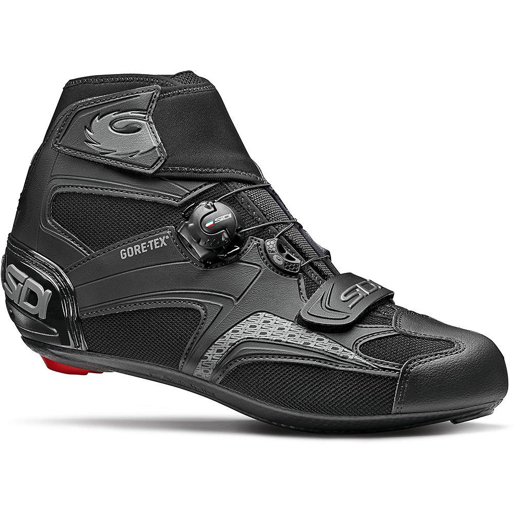 Sidi Zero Gore 2 Road Cycling Shoes SS21 - Black-Black - EU 40, Black-Black