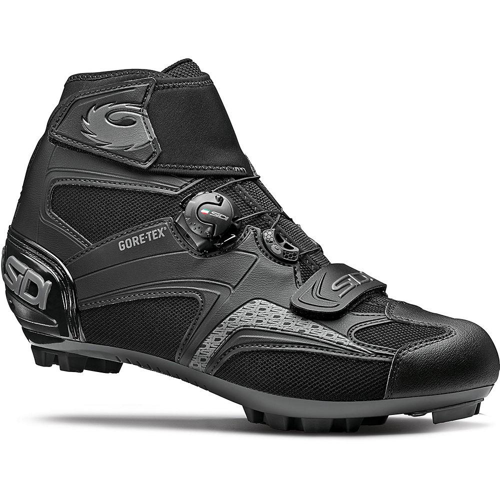 Image of Sidi Frost Gore 2 MTB Cycling Shoes SS21 - Black-Black - EU 48, Black-Black
