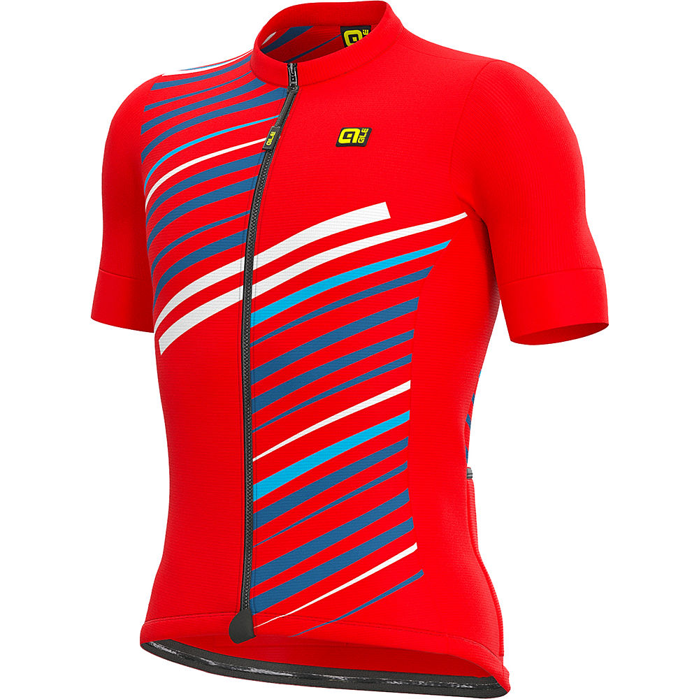 Ale Solid Flash Jersey Ss21 - Red - M  Red