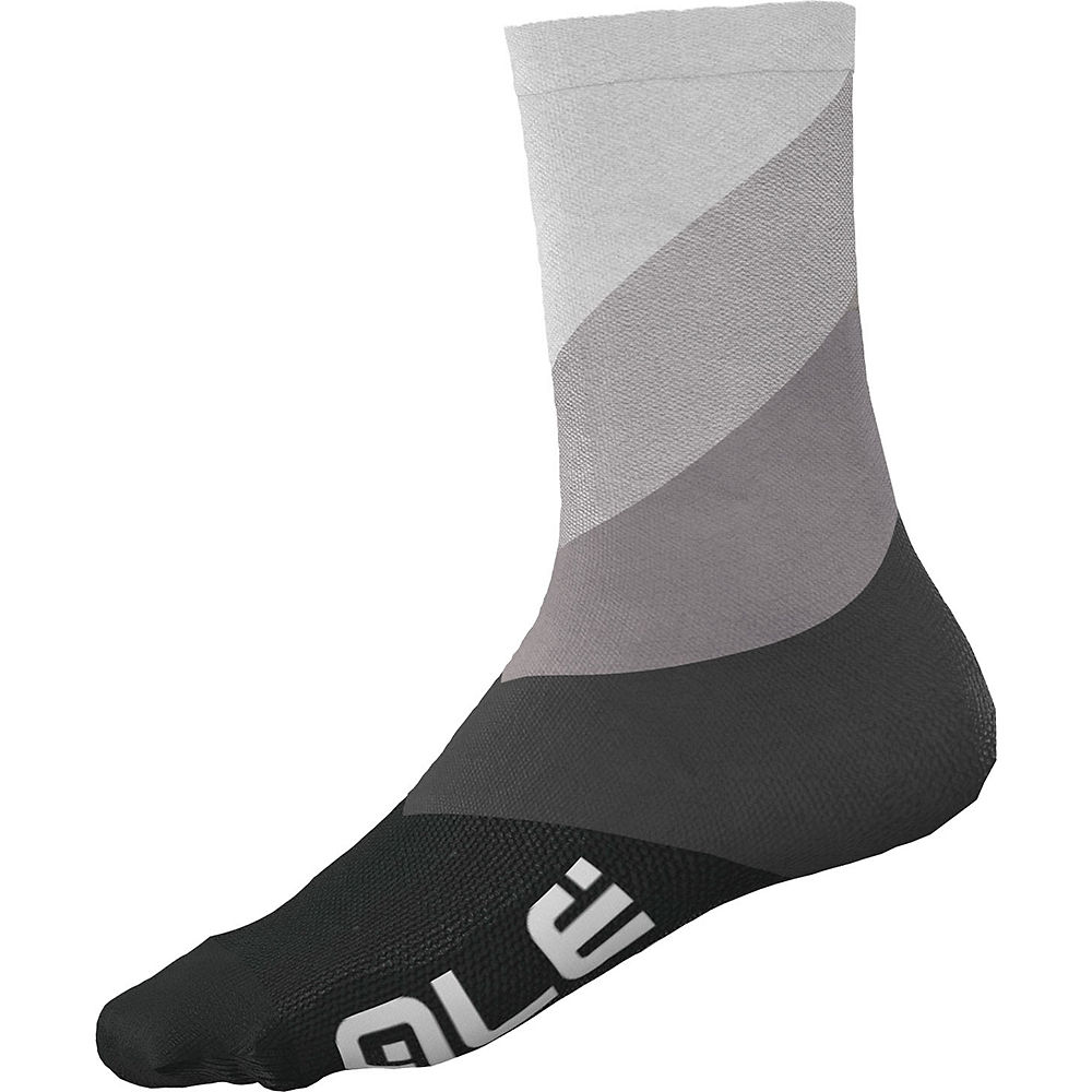 Alé Diagonal Digitopress Socks SS21 - Grey, Grey