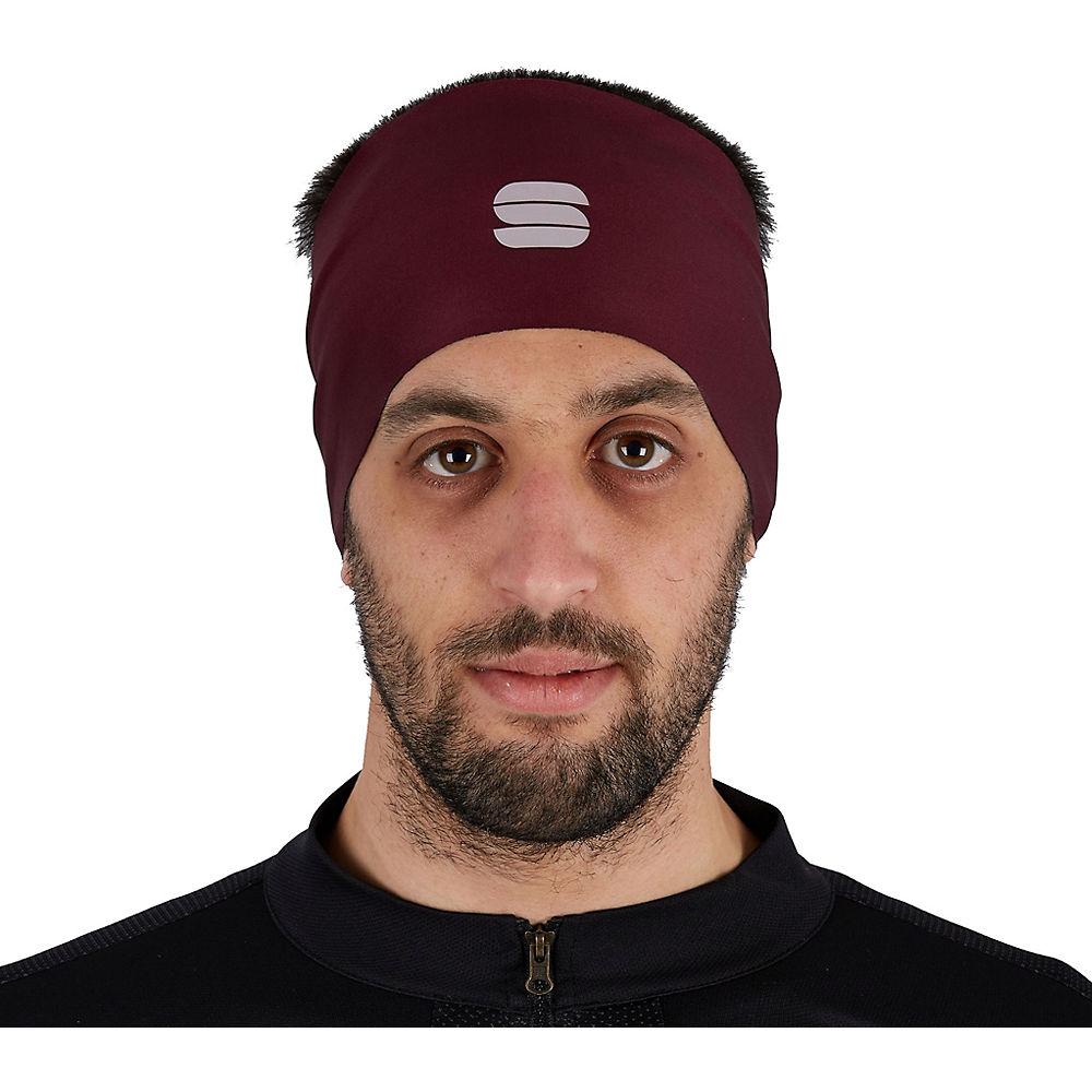 Sportful Matchy Headband Ss21 - Red Wine - One Size  Red Wine