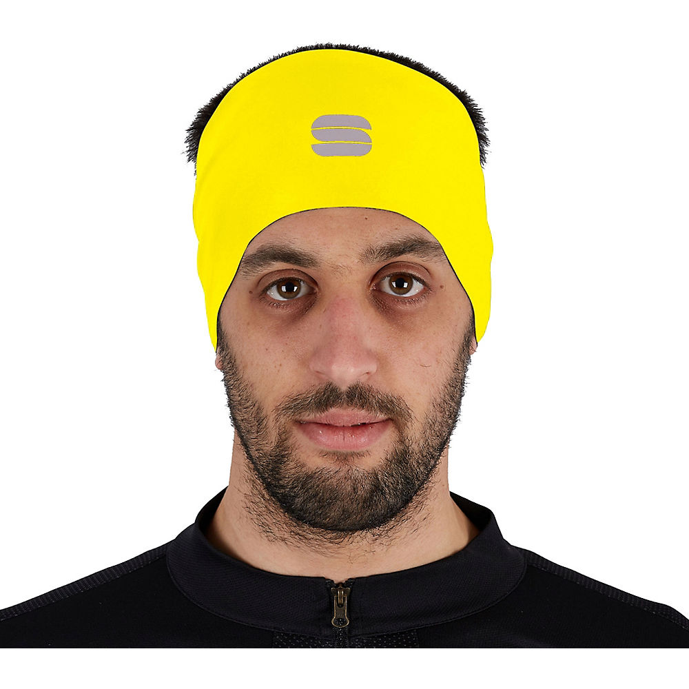 Sportful Matchy Headband Ss21 - Yellow Fluo - One Size  Yellow Fluo