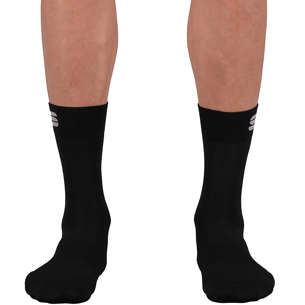 Sportful Matchy Cycling Socks Ss21 - Black - M/l  Black