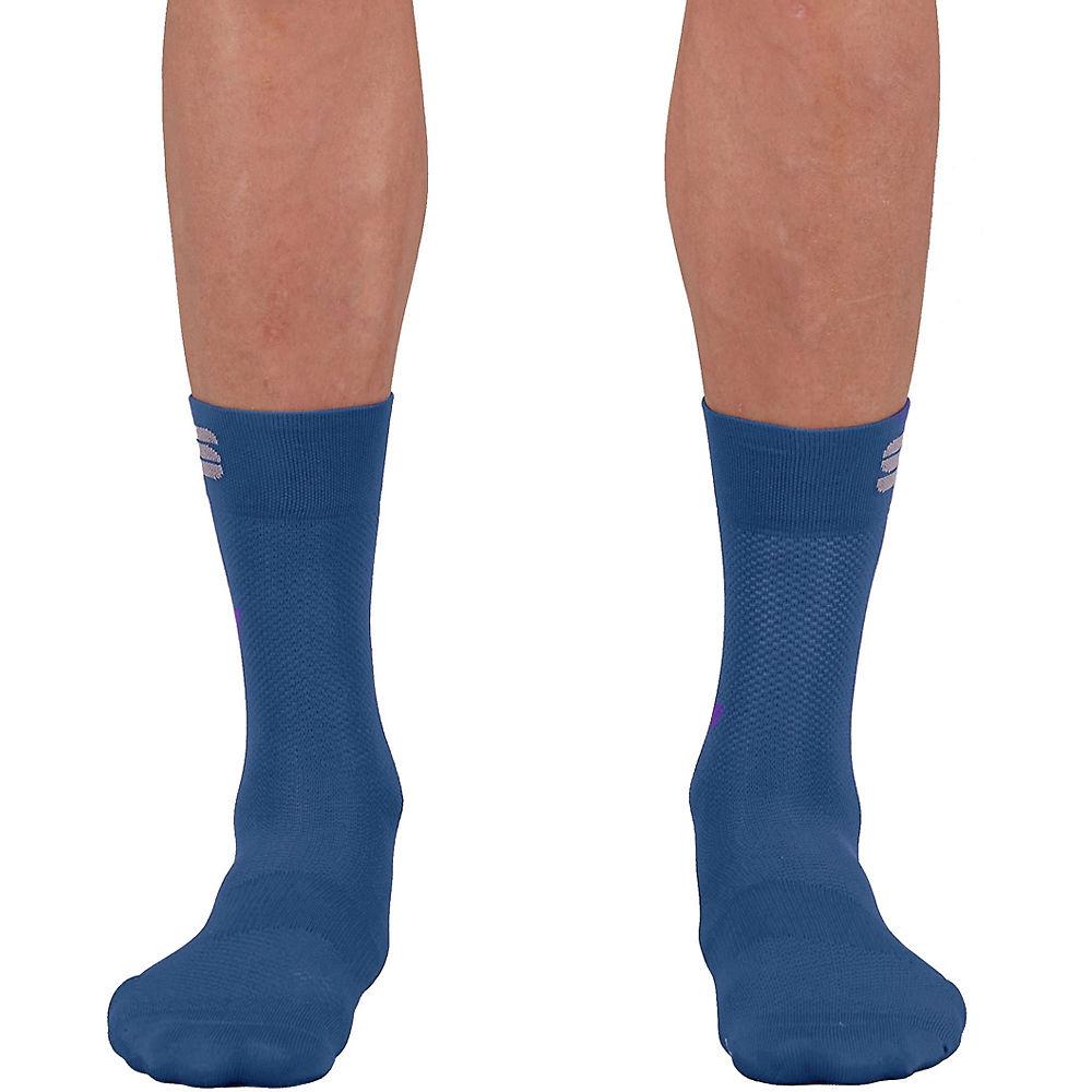 Sportful Matchy Cycling Socks Ss21 - Blue Sea  Blue Sea