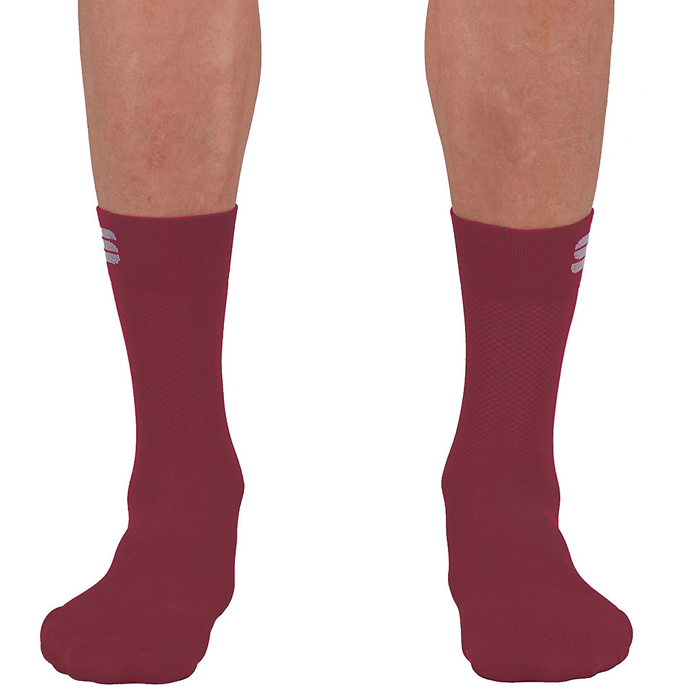 Sportful Matchy Cycling Socks Ss21 - Red Wine - Xl  Red Wine