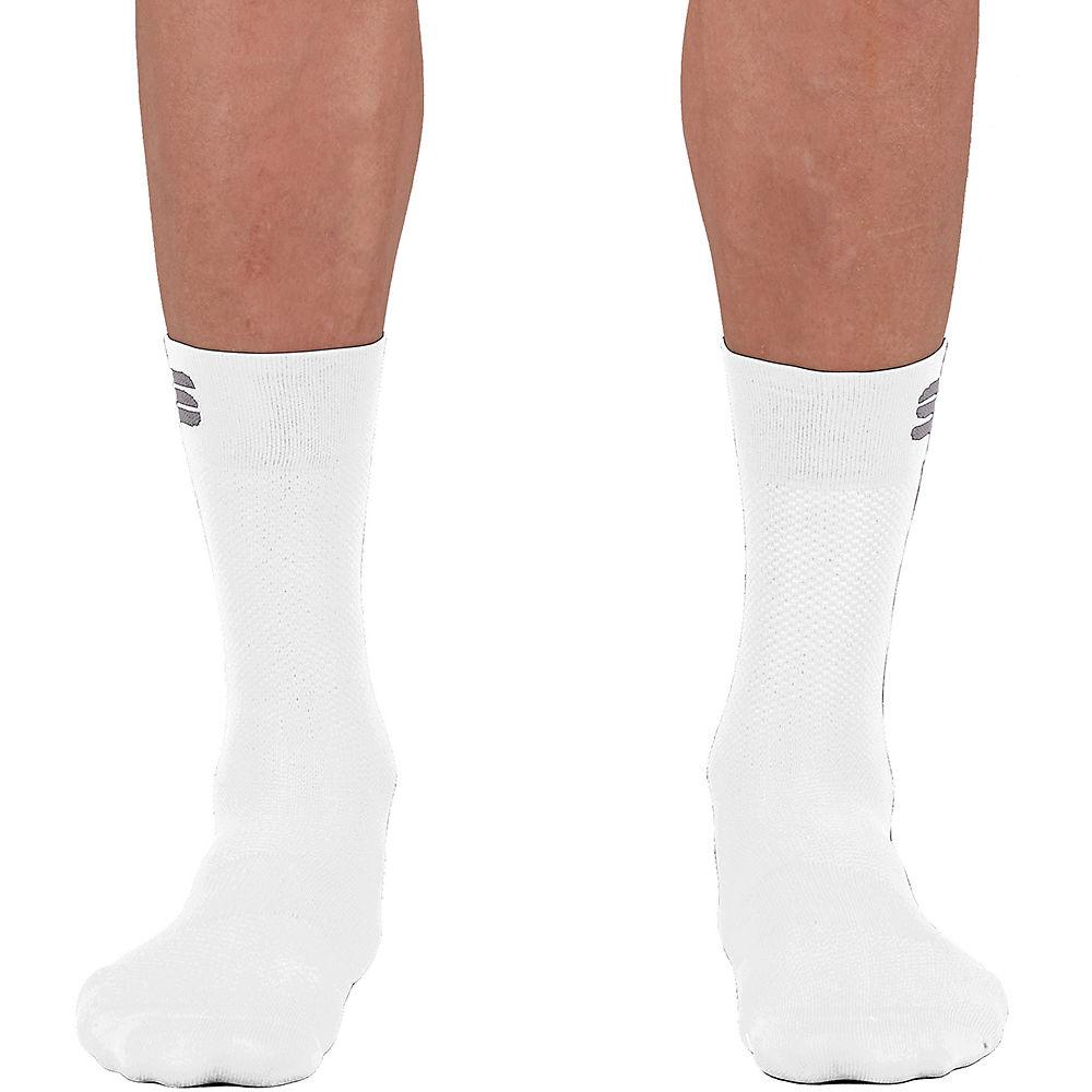 Sportful Matchy Cycling Socks Ss21 - White - M/l  White