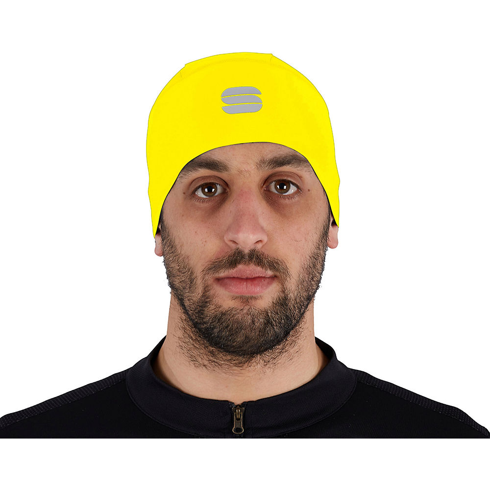 Sportful Matchy Underhelmet Ss21 - Yellow Fluo - One Size  Yellow Fluo