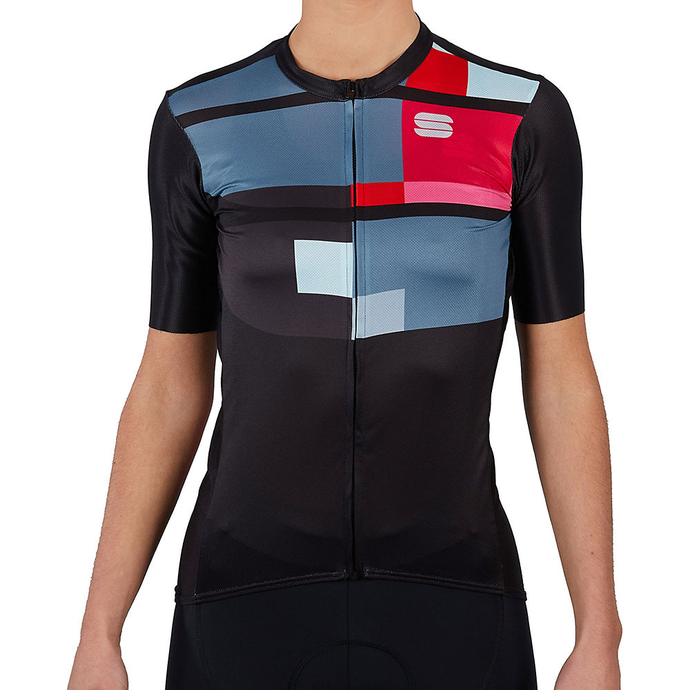 Sportful Womens Idea Cycling Jersey Ss21 - Black - Xl  Black