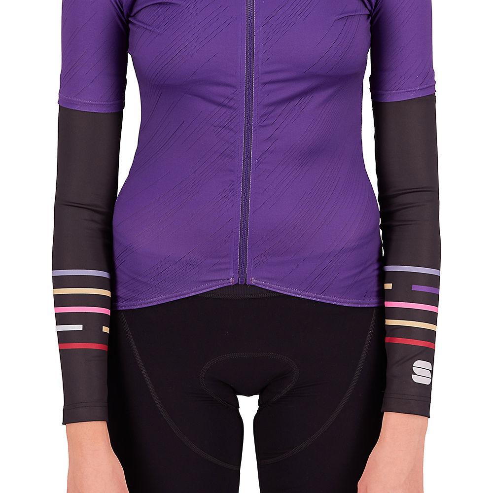 Sportful Womens Thermodrytex Arm Warmers Ss21 - Black-multicolor - Xs  Black-multicolor