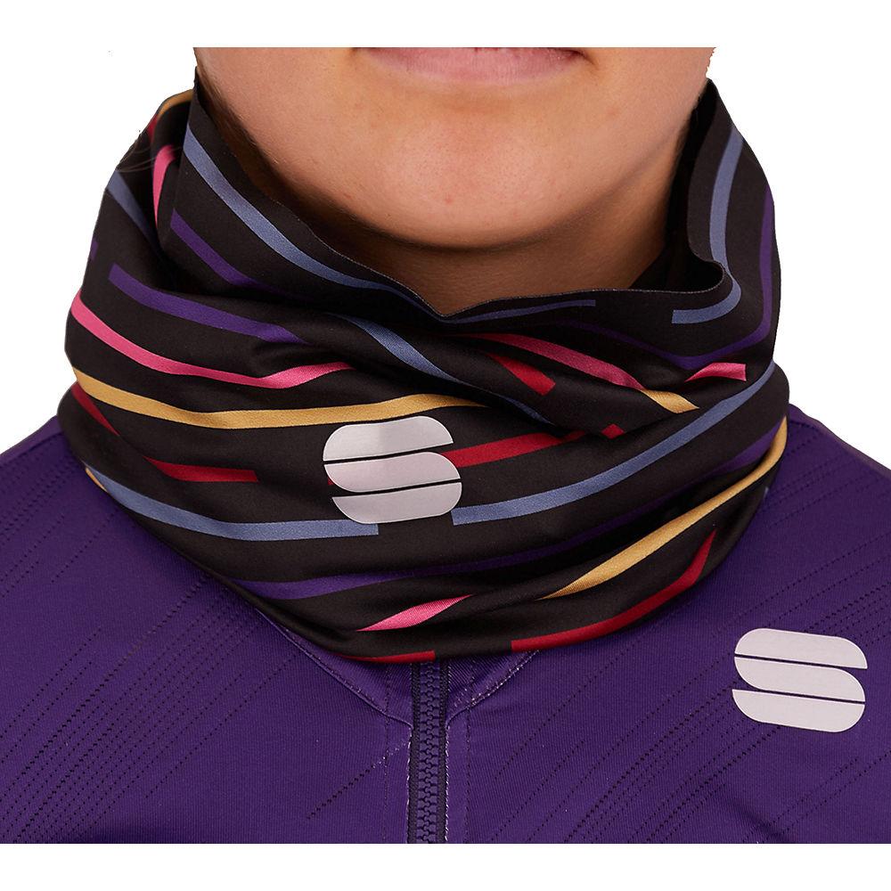 Sportful Womens Velodrome Neckwarmer Ss21 - Black-multicolor - One Size  Black-multicolor
