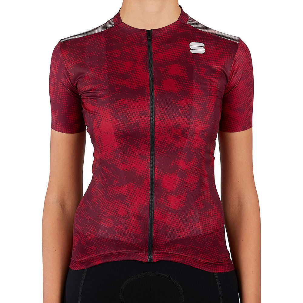 Sportful Womens Escape Supergiara Cycling Jersey Ss21 - Red Rumba - Xl  Red Rumba