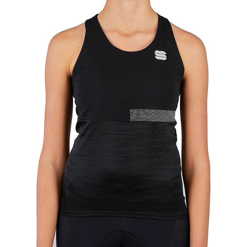 Sportful Womens Giara Top Ss21 - Black - Xl  Black