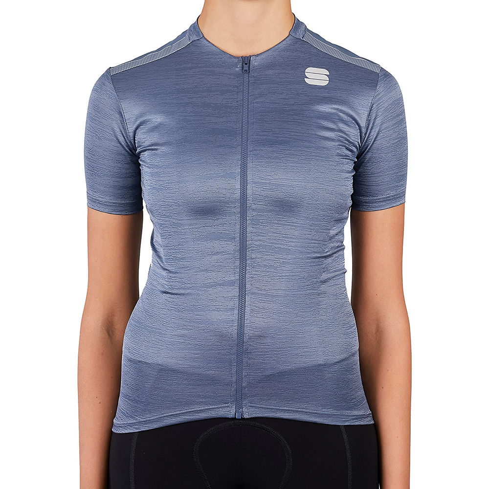 Sportful Womens Supergiara Cycling Jersey Ss21 - Blue Sea  Blue Sea