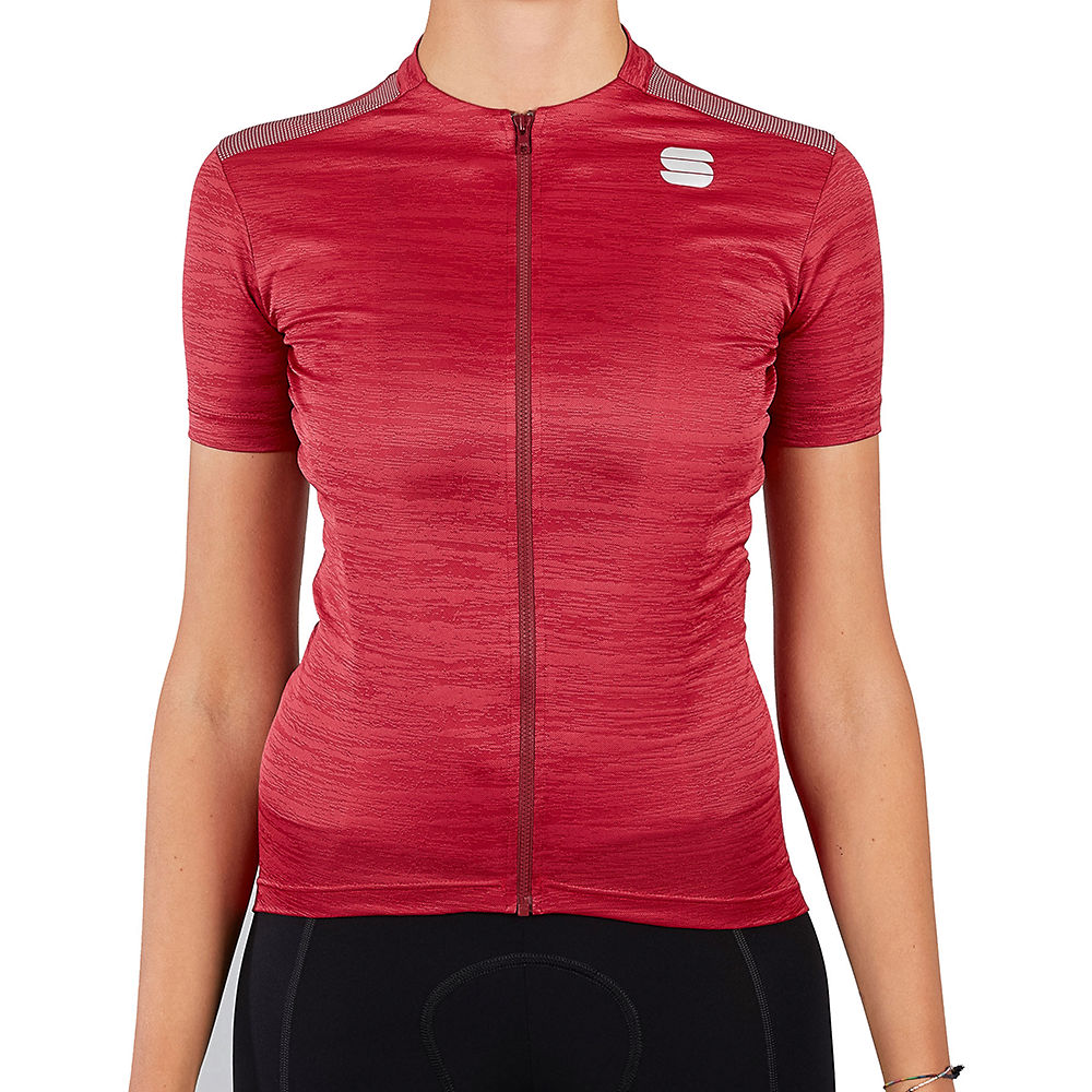 Sportful Womens Supergiara Cycling Jersey Ss21 - Red Rumba  Red Rumba