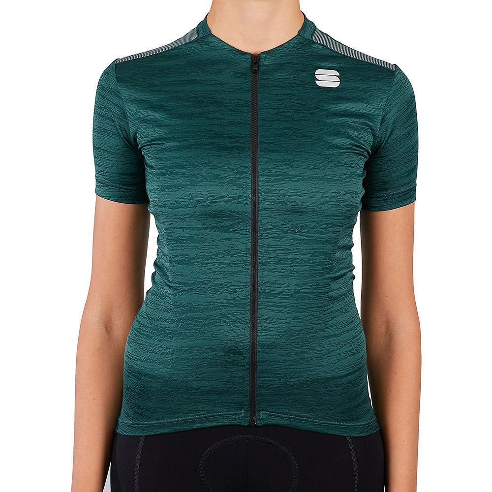 Sportful Womens Supergiara Cycling Jersey Ss21 - Sea Moss - Xl  Sea Moss