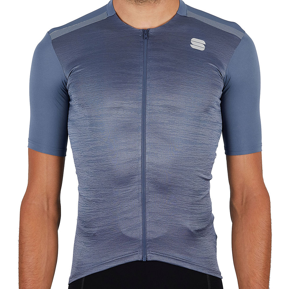 Sportful Supergiara Cycling Jersey Ss21 - Blue Sea - Xxxl  Blue Sea