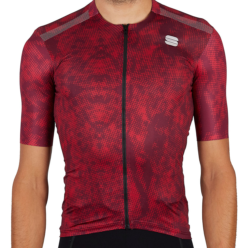 Sportful Escape Supergiara Cycling Jersey Ss21 - Red Wine  Red Wine