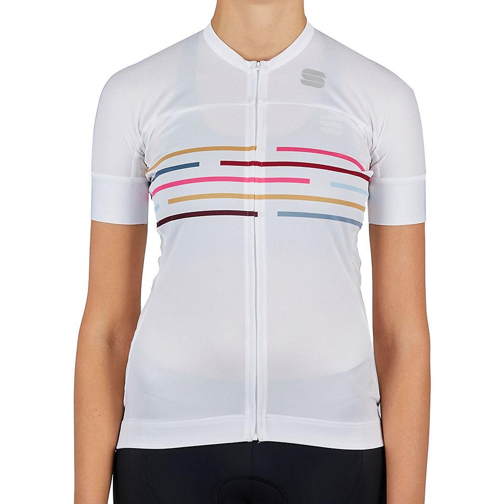 Sportful Womens Velodrome Cycling Jersey Ss21 - White - Xl  White