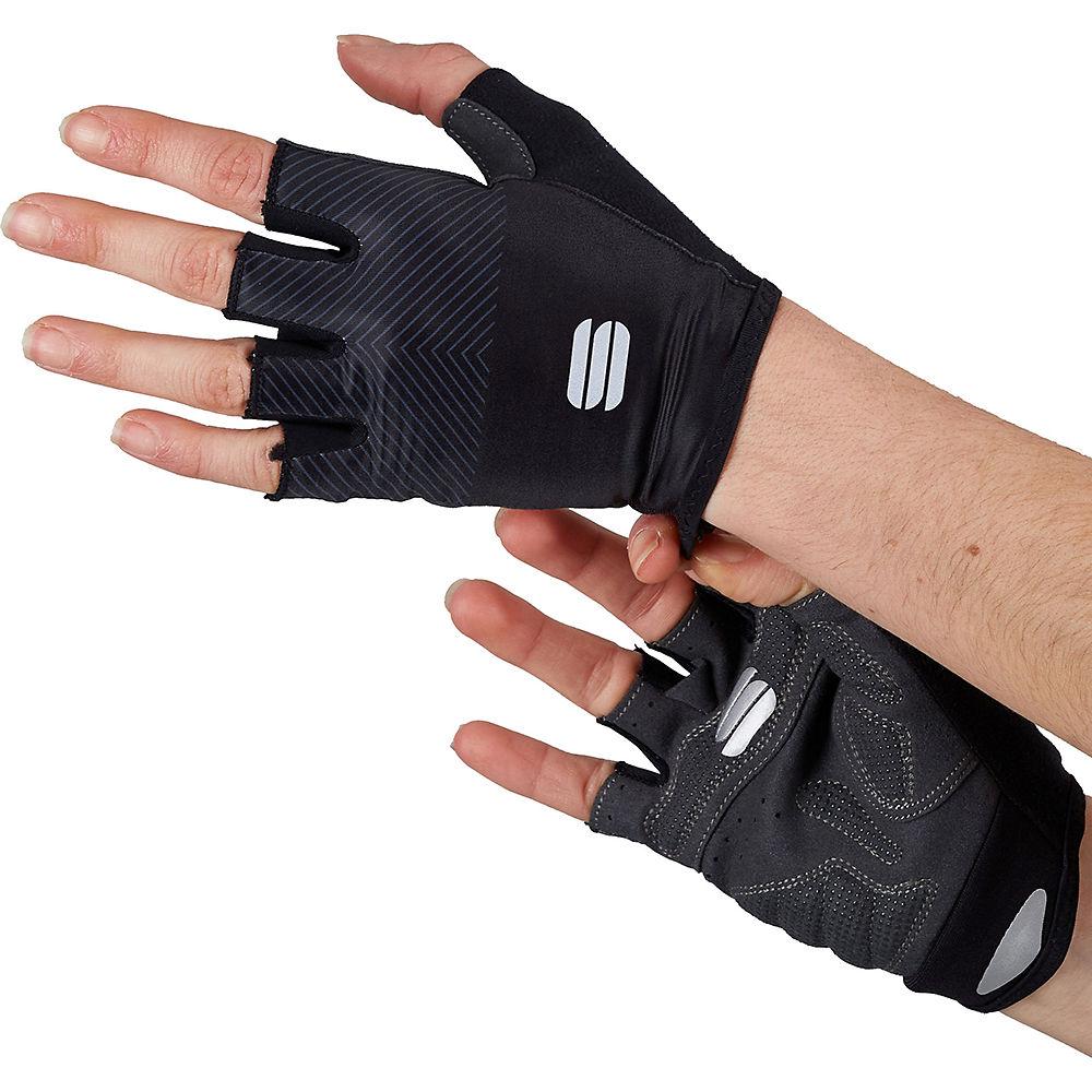 Sportful Womens Race Gloves Ss21 - Black - Xs  Black