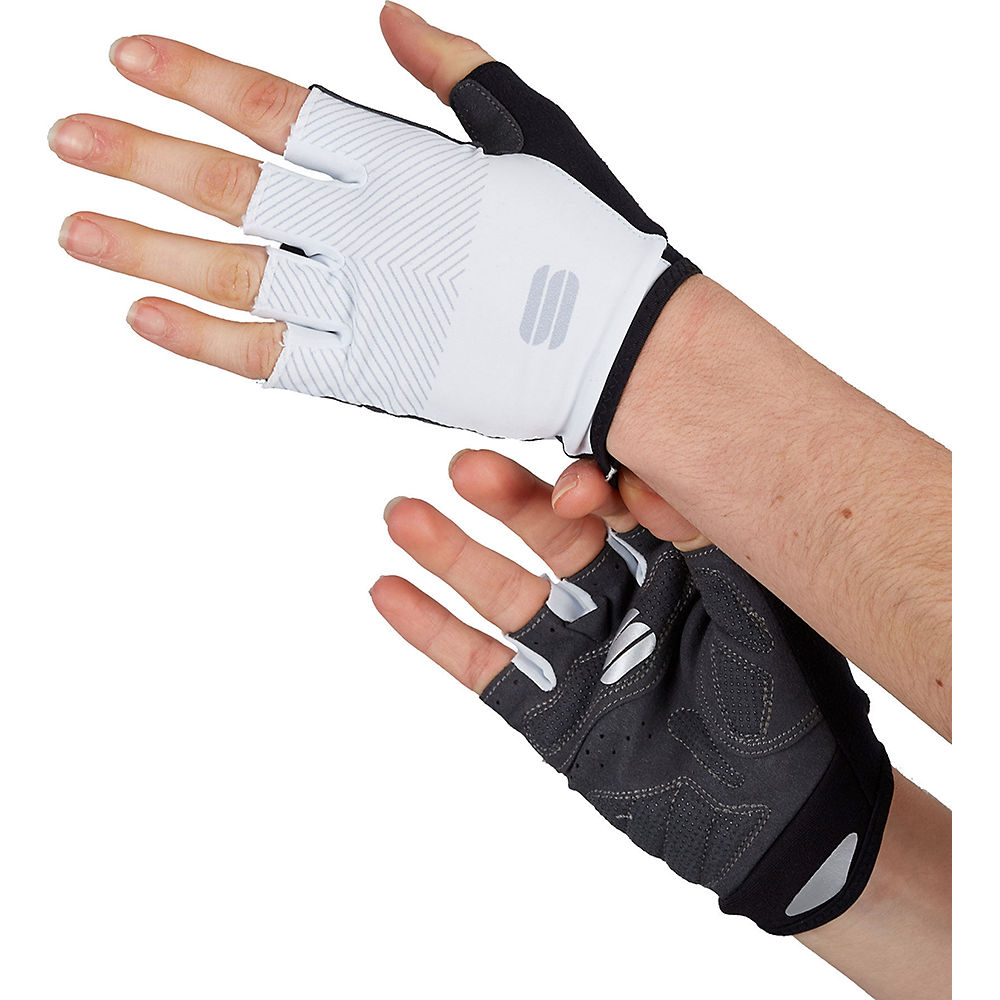 Sportful Womens Race Gloves Ss21 - White  White