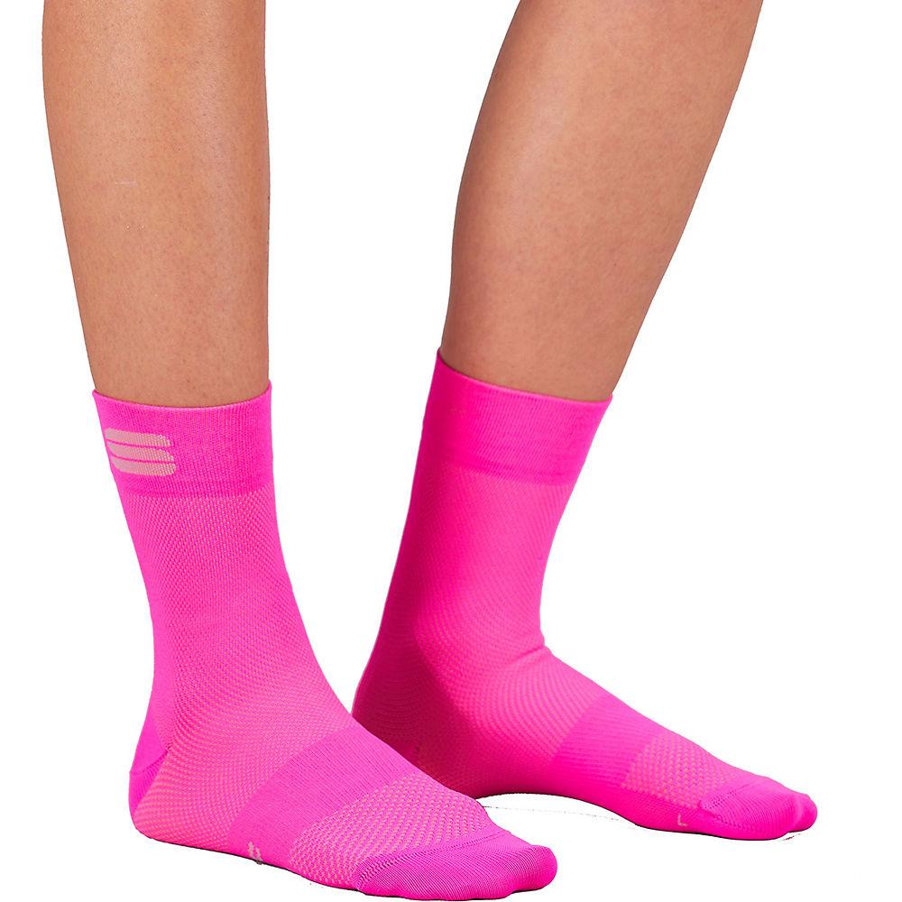 Sportful Womens Matchy Cycling Socks Ss21 - Bubble Gum - L/xl/xxl  Bubble Gum