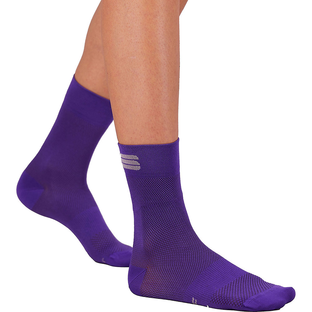 Sportful Womens Matchy Cycling Socks Ss21 - Violet - S/m  Violet