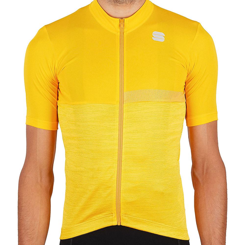 Sportful Giara Cycling Jersey Ss21 - Yellow - Xxl  Yellow