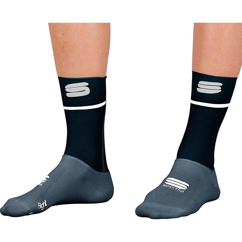 Sportful Womens Light Cycling Socks Ss21 - Black - S/m  Black