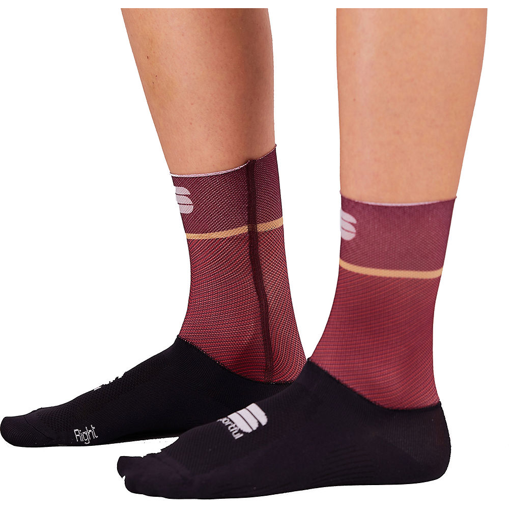 Sportful Womens Light Cycling Socks Ss21 - Red Wine - L/xl/xxl  Red Wine