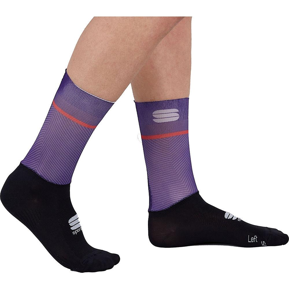Sportful Womens Light Cycling Socks Ss21 - Violet - L/xl/xxl  Violet
