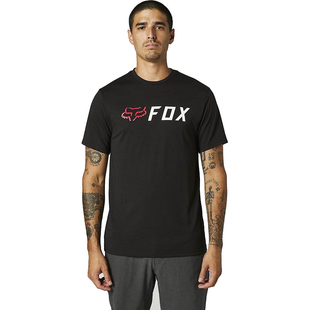 Fox Racing Apex Short Sleeve Tech Tee 2021 - Black-red - Xxl  Black-red