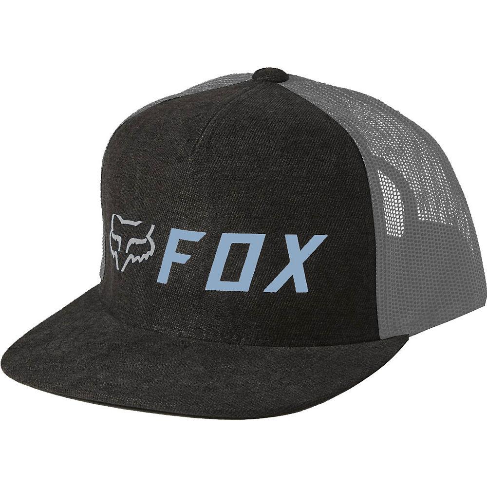 Fox Racing Apex Snapback Hat 2021 - Black-blue  Black-blue