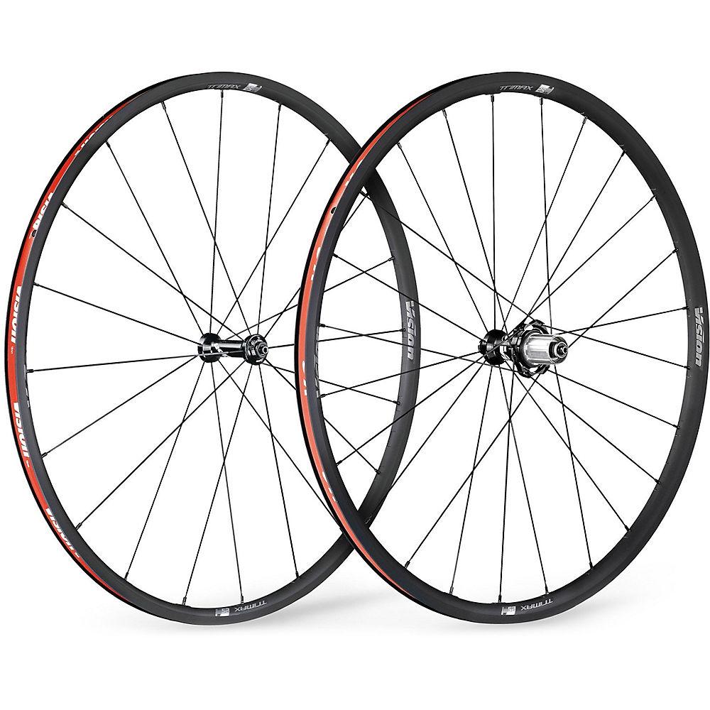 Vision Trimax Kb Clincher Tr Wheelset - Grey  Grey