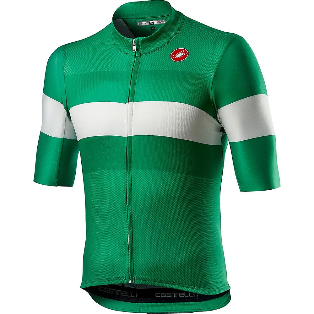 Castelli LaMitica Cycling Jersey SS21 - Lombardia Green - XS, Lombardia Green