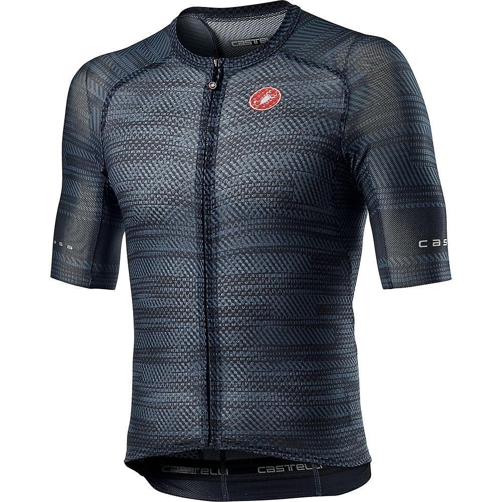 Castelli Climber's 3.0 SL Cycling Jersey SS21 - Dark Steel Blue, Dark Steel Blue