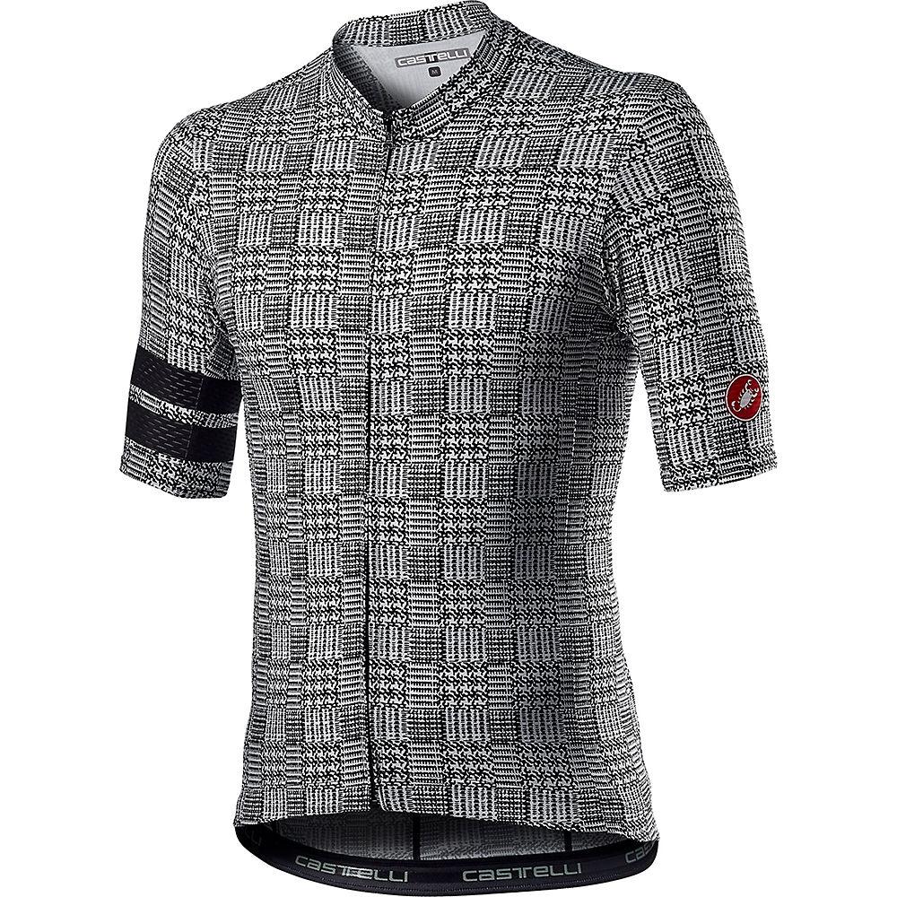 Castelli Maison Cycling Jersey Ss21 - Black-white - Xl  Black-white