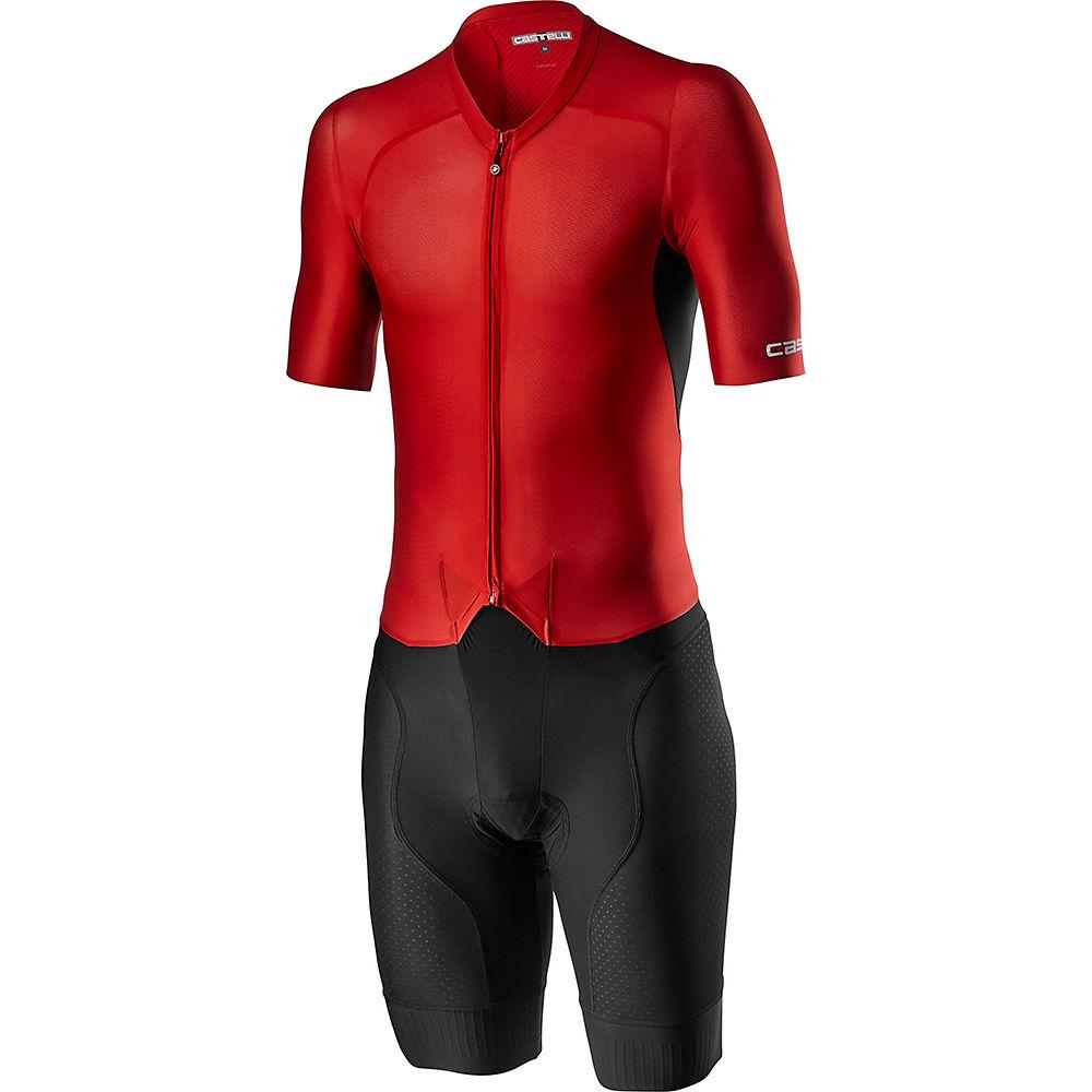 Castelli Sanreme 4.1 Speed Suit SS21 - Negro/Rojo, Negro/Rojo