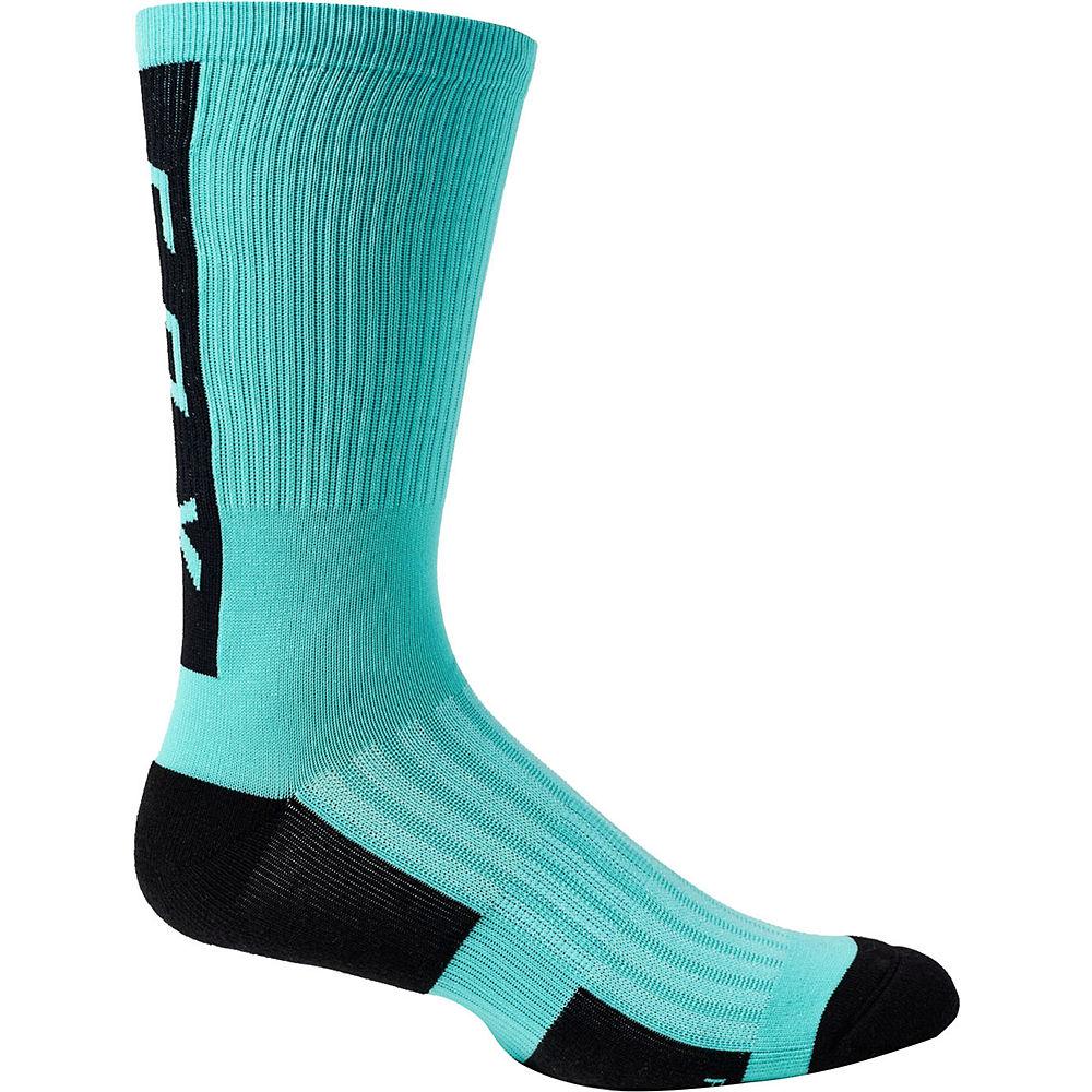 Fox Racing 8 Ranger Cushion Socks 2021 - Teal - S/m  Teal