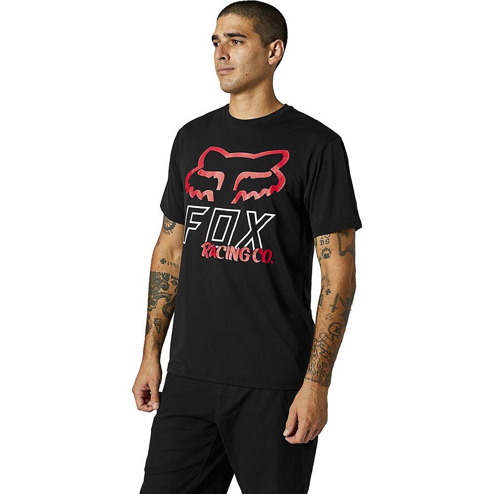 Fox Racing Hightail Short Sleeve Tech Tee 2021 - Black - M  Black