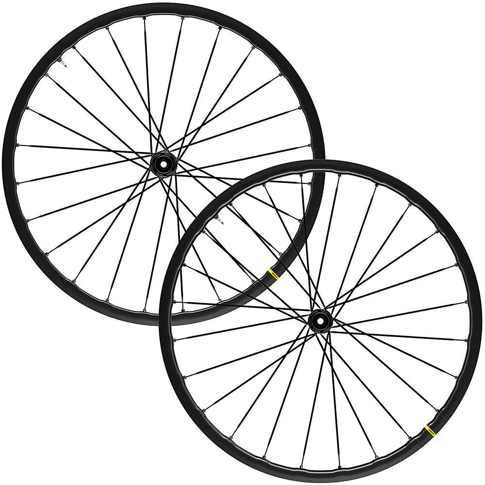Mavic Ksyrium SL Disc Road Wheelset - Black - Shimano HG, Black