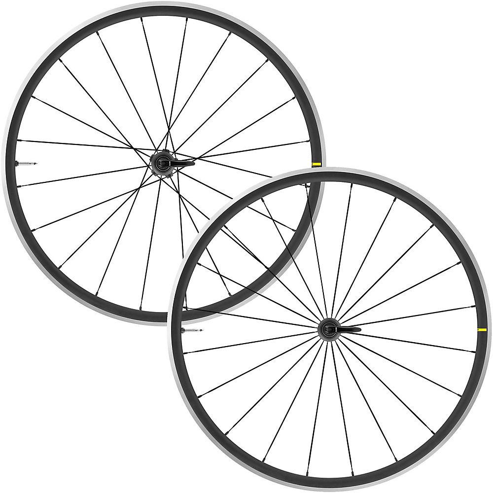 Mavic Cosmic Elite UST Road Wheelset - Black - Shimano HG, Black