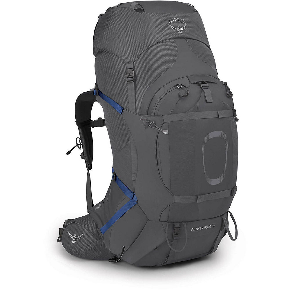 Osprey Aether Plus 70 Backpack SS21 - Eclipse Grey - Large/Extra Large, Eclipse Grey