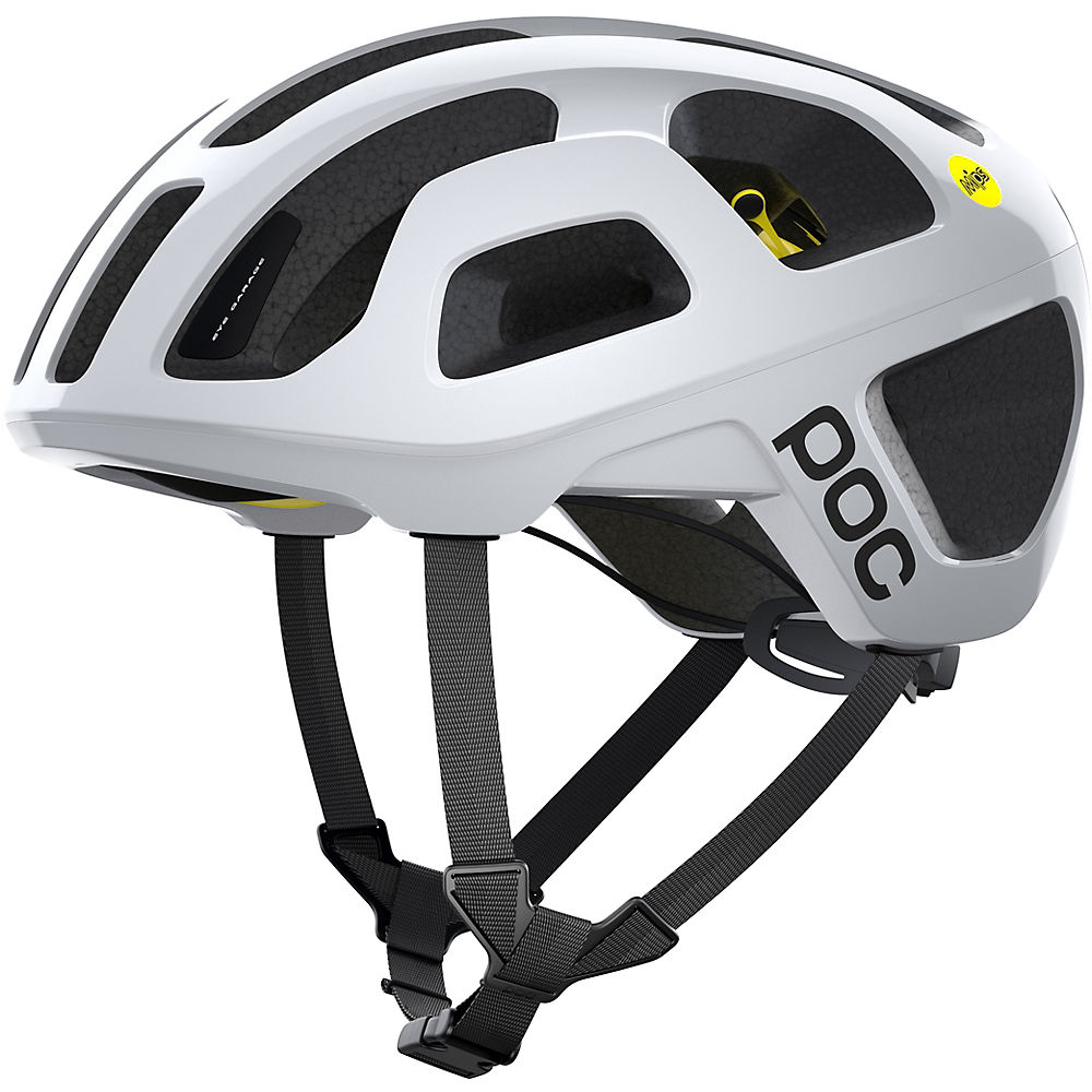 POC Octal MIPS Road Helmet 2021 - Hydrogen White - XL/XXL, Hydrogen White