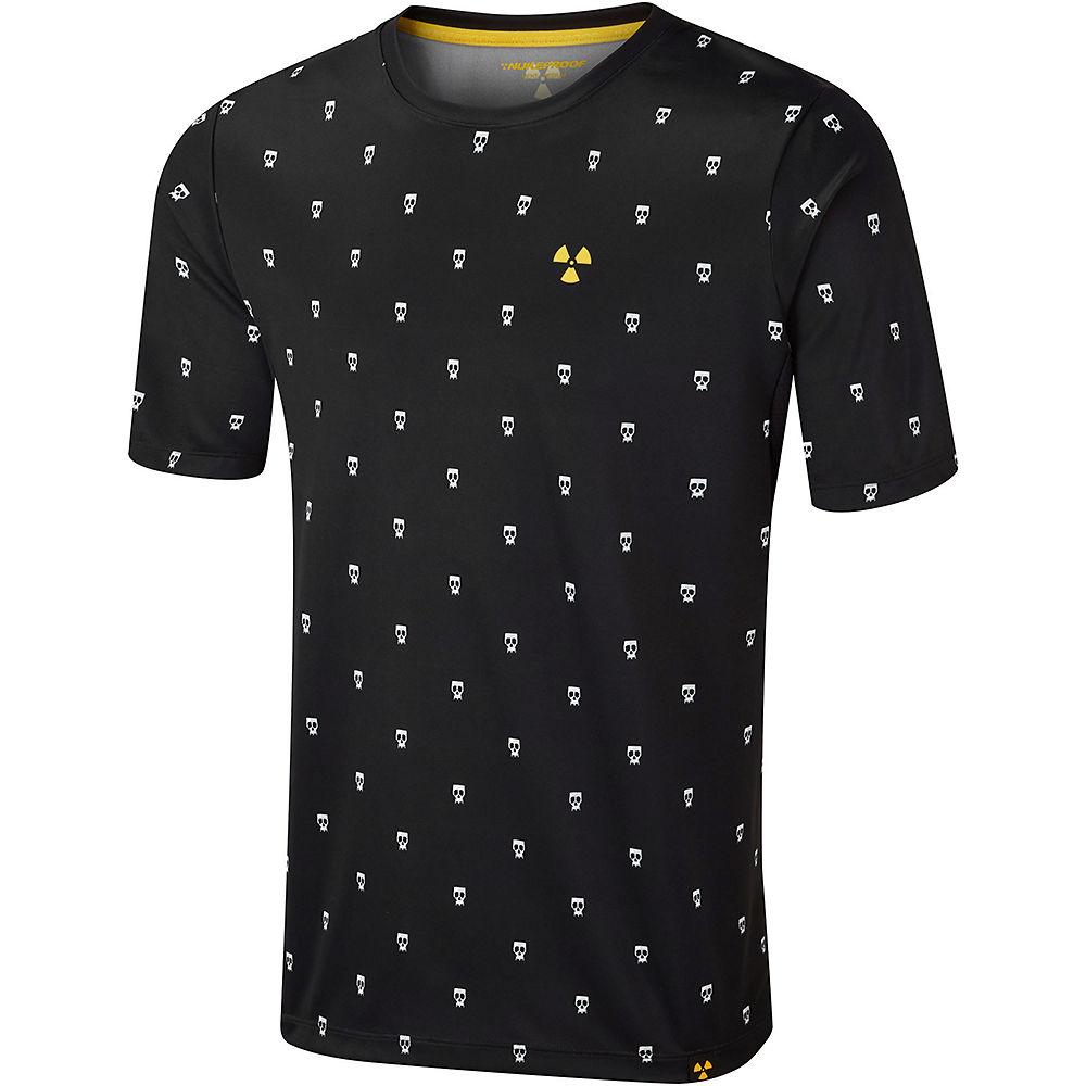 Nukeproof Blackline Short Sleeve Jersey - LTD ED SS21 - Black-Print, Black-Print