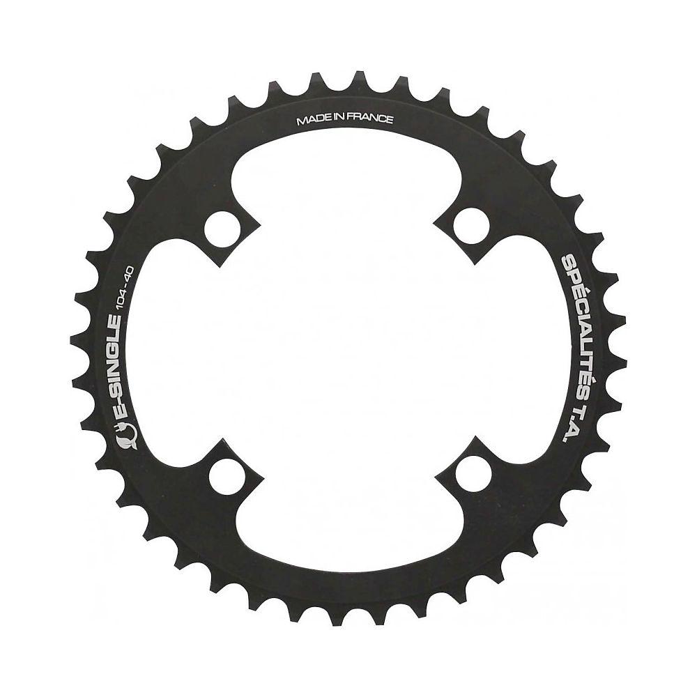 TA E-Single 104pcd Chainring - Black - 104 pcd, Black
