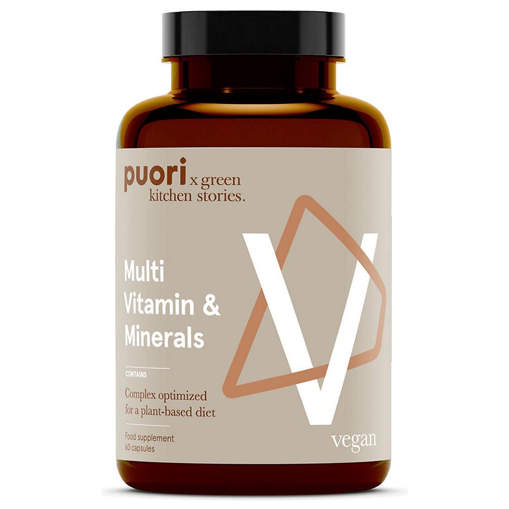 Puori Multi Vitamins And Minerals (60 Caps)
