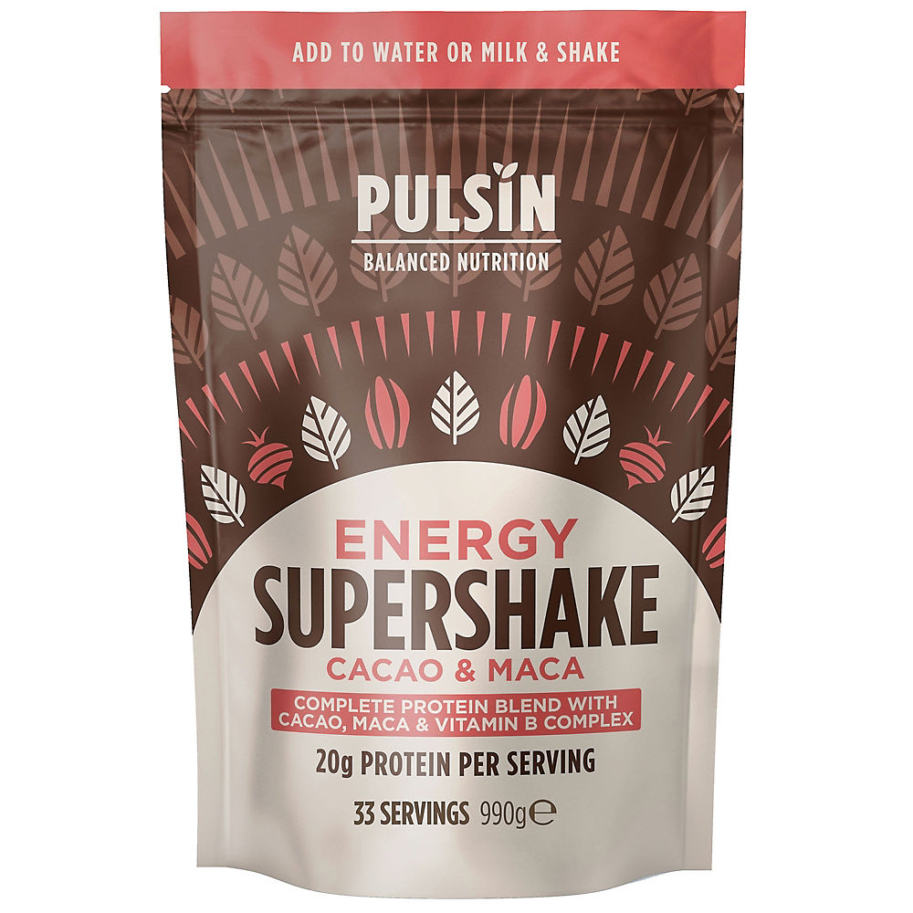 Pulsin Energy Supershake CacaoandMaca (990g)