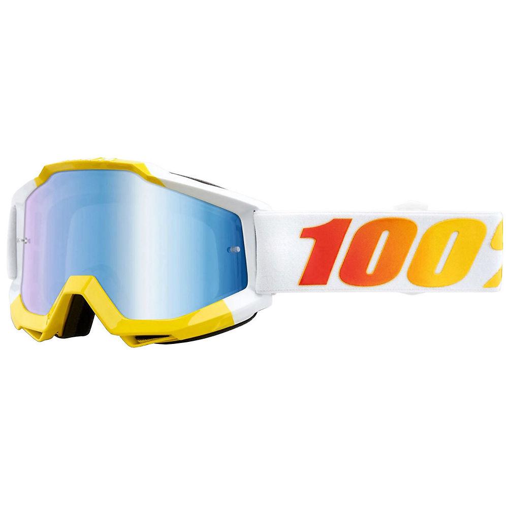 100% Accuri MTB Goggles w-Anti-Fog Lens  - Astra-Blue, Astra-Blue