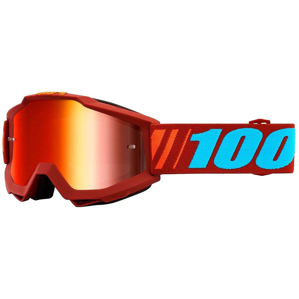 100% Accuri MTB Goggles w-Anti-Fog Lens  - Dauphine-Red, Dauphine-Red